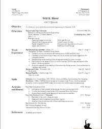 How To Write A Resume With Only One Job No Job Experience Resume ...