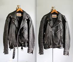 mens vintage leather biker jacket cairoamani com