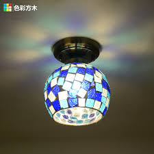 get ations idyllic mediterranean mosaic ceiling chandelier american country porch stairs restaurant bar aisle small chandelier hanging lighting