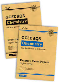 new grade 9 1 gcse chemistry aqa practice papers higher pack 1 2 bundle