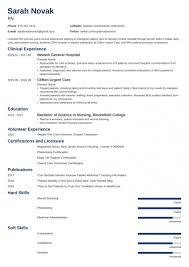 Nursing Student Resume Sample Guide For New Rn Grads