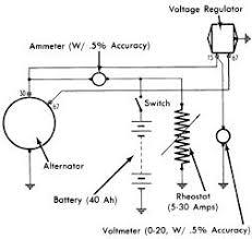 repair manuals marelli alternator regulators wiring diagrams fig 2 circuit for conducting bench test