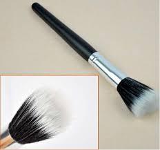 flat top contour brush. china makeup brush supplier small stippling ,flat top contour , flat powder