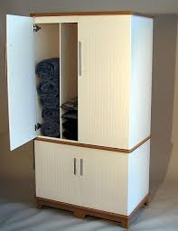 Towel Storage Cabinet Soldura Sustainable Outdoor Furniture Cabanas Chaise Lounges