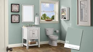 bathroom colors green. Light Green Small Bathroom Color Ideas - A Touch Of Freshness Colors F