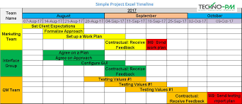 Project Timeline Creator 8 Project Timeline Template Samples Download Free