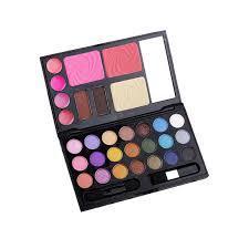 f9s eyebrow cream powder cake lip gloss cheek blush eyeshadow make up kit bo