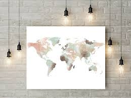 best 25 world map decor ideas