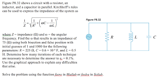 figure p8 32 shows a circuit with a resistor an i