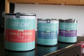Valspar Turquoise Spray Paint How To Use Valspar Chalky Finish Paint The Lindee Tree
