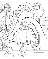Disegni Dei Dinosauri Da Coloraremuseo Dei Dinosauri Con Bambini