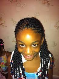 Coiffure Enfant Id Es Coiffure Afro Tresses Vanille