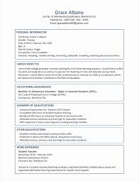Film Resume Template New Sample Cna Resumes Letter Of Intention ...