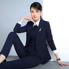 Autumn And Winter <b>Korean</b> Occupation Women's <b>Suit</b> Temperament ...