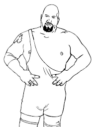 Small Picture Professional Wrestling Athlete Colouring Pages Picolour