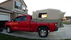 Kodiak Tent 7218 Canvas Truck Tent for 8-Foot Long Bed