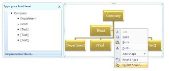 How To Create An Organizational Chart In Microsoft Word 2007 Change Organization Chart Lines To Dotted Lines Smartart