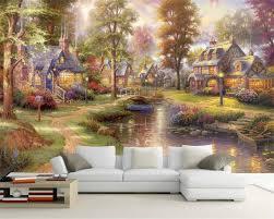 beibehang Custom Wallpaper House ...
