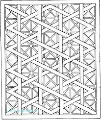 Free Printable Geometric Design Coloring Pages Geometric Coloring