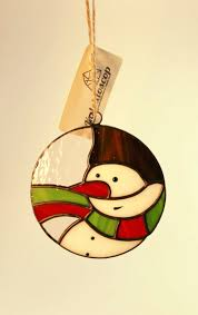 Stained Glass Christmas Ornament Patterns Unique Design Ideas