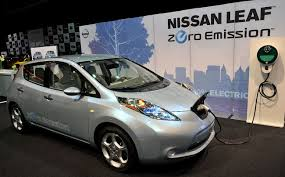 2018 nissan electric car. perfect nissan unveiling nissan 2018 leaf electric car inside nissan electric car f