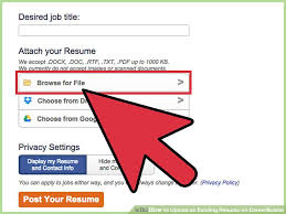 How To Upload An Existing Resume On Careerbuilder 10 Steps How To
