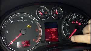 Audi Tt Reset Service Light Audi Tt Reset Service Oil Light By Stark I