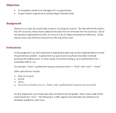 Solved Objectives To Strengthen Students Knowledge Of C