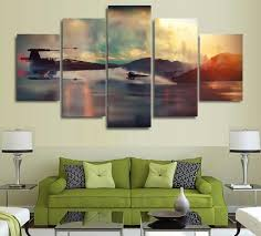 5 panel star wars the force awakens movie poster canvas wall art x wing fighter on star wars 5 panel canvas wall art with 5 panel star wars the force awakens movie poster canvas wall art x