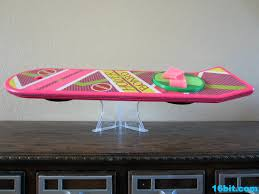 Hoverboard Display Stand 100bit Figure of the Day Review Mattel Back to the Future II 2