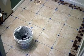 how to install bathroom floor tile how tos diy minimalist diy paint bathroom tile floor