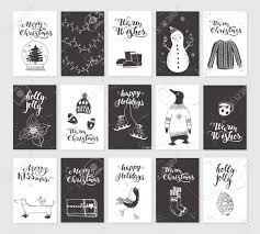 Merry Christmas Black And White Greeting Cards And Invitations