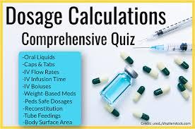 Provides pain prevention during surgery cardiologist: Dosage Calculations Nursing Comprehensive Quiz