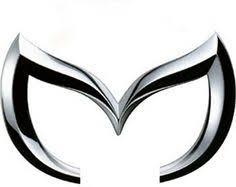 mazda logo black. mazda m logo black