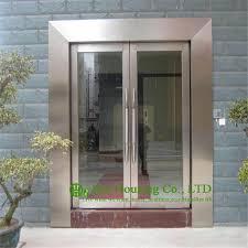 steel glass doors. Shopping Mall Stainless Steel Glass Door, Fire Rated Emergency Exit Door Doors
