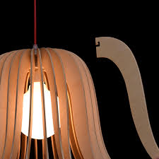 eco friendly lighting fixtures. Eco-friendly Rustic Pendant Light With Wood Panels On A Red Cord Eco Friendly Lighting Fixtures R