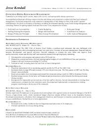 Top Example Of Restaurant Manager Resume Hotel Management Resumes