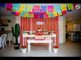 Great Mexican party decorating ideas