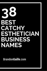 39 best catchy esthetician business names brandongaille