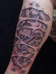 Tetování Biomechanika Fotogalerie Motivy Tetování