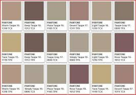 Shades Of Taupe Chart Warm Taupe Color Chart In 2019 What Color Is Taupe Taupe