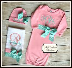 appealing monogrammed baby gift