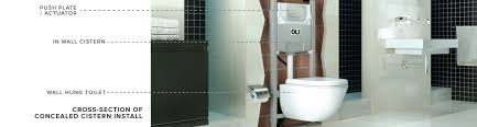 what is a concealed cistern and is it