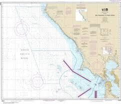 Ocean Charts California 18640 San Francisco To Point Arena Nautical Chart