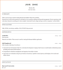 Resume Building Template Best Free Resume Builder Templates Learnhowtoloseweightnet