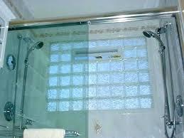 frosted glass block windows glass block shower window glass block window in shower accent glass block frosted glass block windows