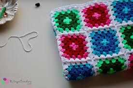 Classic Granny Square Pattern Gorgeous Classic Granny Square Blanket AD FREE PDF Version Kristyn Crochets