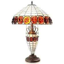 elegant the art of lighting. Image Is Loading 24-034-elegant-stained-art-glass-vintage-turtleback- Elegant The Art Of Lighting P