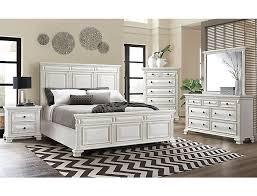 Calloway White 5 Piece Queen Bedroom Set