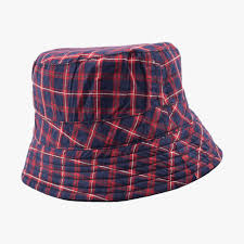 Design Hats Online Australia Askew Plaid Bucket Hat